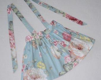 Suspender Skirt,Girls Skirt, Toddler Suspender Skirt, Girl Suspender Skirt, Toddler Skirt, Summer Skirt, Winter Skirt