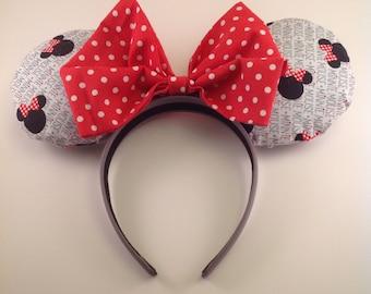 Minnie Mouse Disney Ears