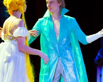 Elsa Frozen male cosplay costume