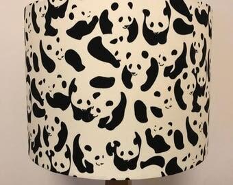 Panda Print Lampshade