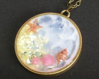 """Pendant """"The blue sea"""""""