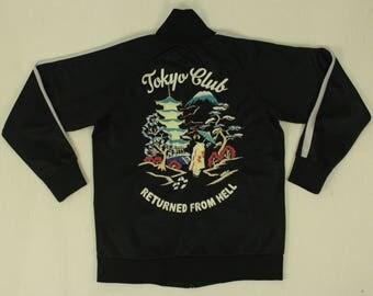 Souvenir Jacket Embroidered Souvenir Track Jackets by Taylor Toyo Sukajan Track Top