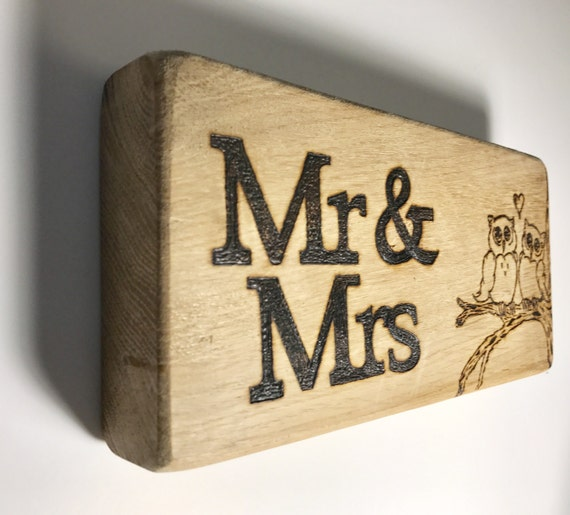 Wedding Gifts Mr And Mrs: Mr & Mrs Decorative Board Wedding Gift Mr And Mrs Gift