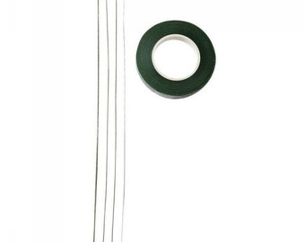 Coated wire and duct tape Green code: NM-W1113