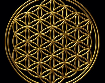 Replacement/spare Flower of Life mat