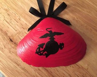 USMC Hand Painted Shell (#2)