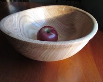 Extra Large Vermont Oak Bowl