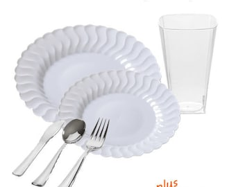 Flaired White GRAND Party Package