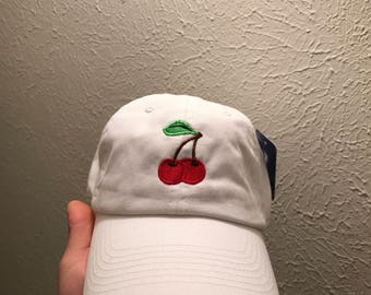 Cherry dad hat strapback caps