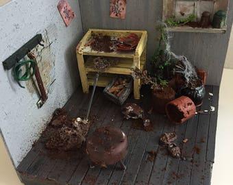 Miniature forgotten garden - forgotten garden miniature