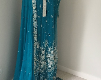 Pakistani gown