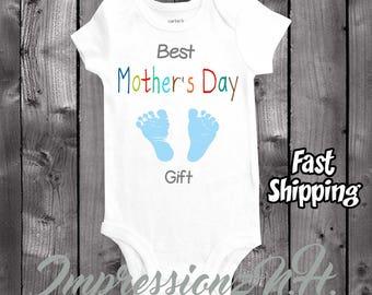 Baby onesie to wear on Mother's Day - Best Mother's Day Gift -cute baby shirt - funny baby shirt - funny baby onesie
