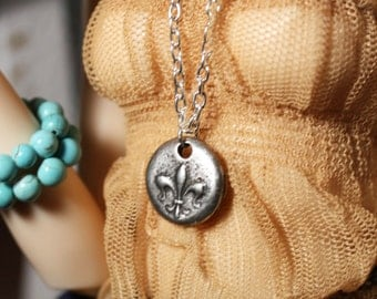 MSD Silver Charm Necklace