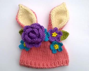 SALE Blythe hat Blythe Bunny Hat Blythe Spring Hat Blythe Easter Hat Blythe Outfit Blythe Doll Clothes Blythe Hat Blythe wear