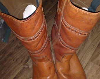 Vintage men's Dan Post boots sz 10d