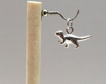 925 Sterling Silver Dinosaur Charm, Dinosaur Charm