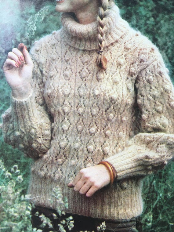 Ladies Knitting Pattern Hayfield Vintage Knitting Pattern
