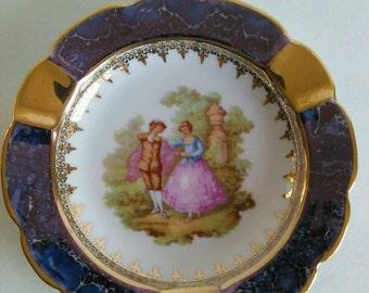 Elegant Limoges Decorative Plate