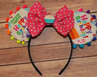 Happy Birthday Mickey Ears