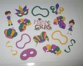 Mardi Gras Sticker Sheet