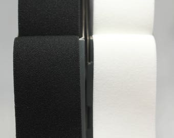 Excellent Quality Waistband Elastic in Black or White