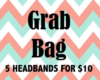 Baby Headband, Headband Grab Bag, Newborn Headband, Girl Headband, Infant Headband, Baby Shower Gift, Baby Hair Bows, Grab Bag, Baby Girl