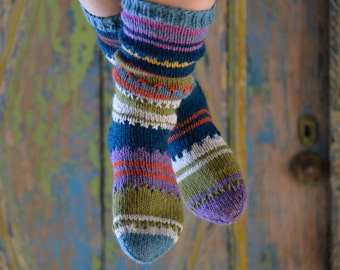 Alpaca wool socks 37/38