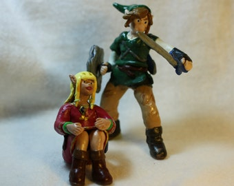 Legend of Zelda figure 2-set (Polymer Clay)