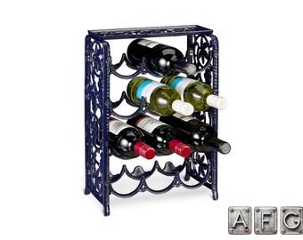 Cast iron for 12 bottles wine rack