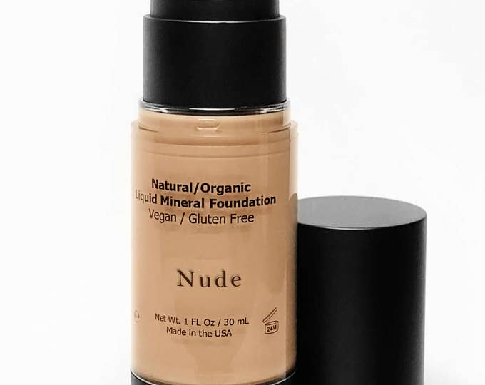 Vegan Liquid Foundation, Liquid Foundation, Organic Foundation, Nude Foundation, Liquid Foundation, Natural Liquid Foundation, Vegan