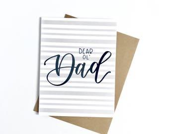 Dear Ol' Dad Card