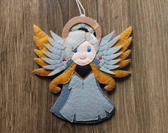 Mercy Felt Ornament