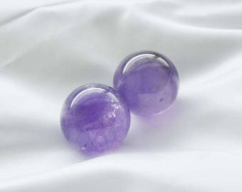 New! Amethyst Ben wa ball, Pelvic Tonners and Exercisers to Strengthen and Tone Love Muscles to Gain Better Bladder Control and Pleassure