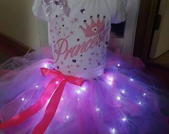 LED Princess Tutu Set
