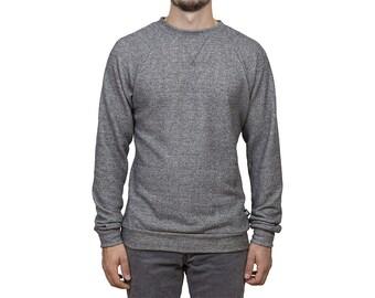Long sleeves sweater // Grey // Man