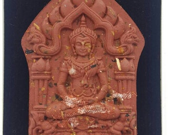 Thai Amulets Phra Khun Paen Moon of the Moon Prai Mea Lam Duan by Luangta Noi. Bring the best of luck granting all wishes Metta Maha Saney