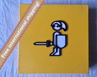 Zero Punctuation Link 3D canvas