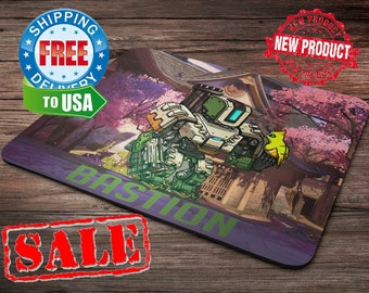 Bastion Overwatch Mouse Pad overwatch mousepad home decor overwatch accessories overwatch champion