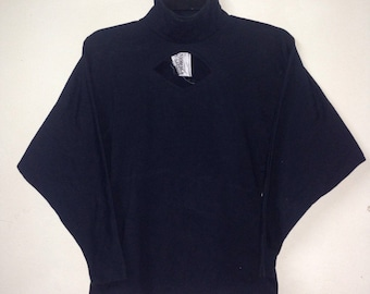 Rare NORMA KAMALI Shirt Women Turtleneck