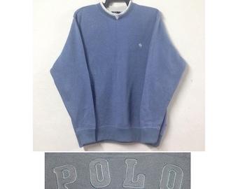 Vintage POLO British Country Spirit Sweatshirt Size L