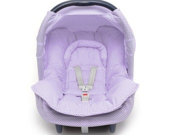 Baby Maxi Cosi Gingham Carseat cover