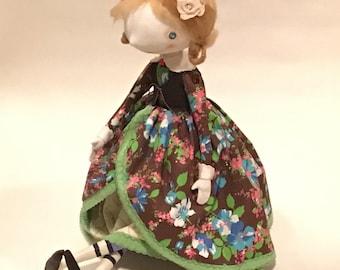 Textile Doll Cinderella