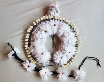 Odissi, Indian classical Dance, Tahia headpiece set from fabric material. (new)