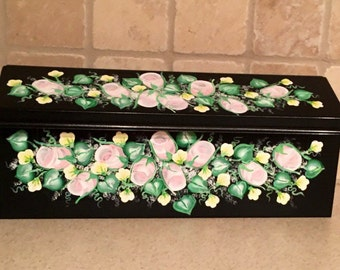 Painted Mailboxes, Decorative Mailboxes, Custom Mailboxes, Residential Mailboxes, Hand Painted Mailbox, Floral Mailbox, Wall Mount Mailbox