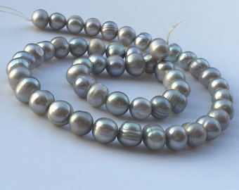 1Full Strand Freshwater Pearl Beads,Potato Freshwater Pearls,Natural Pearl Jewelry Approx 7-8mm