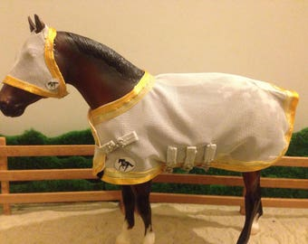 Fly rug set for 1:19 scale pony