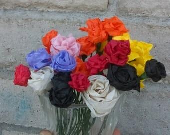 Mini Paper Flowers