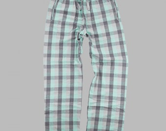 Monogrammed Flannel Pajama Pants / Monogrammed Pajama pants