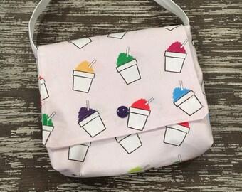 Toddler Snowball Purse (Messenger Bag)