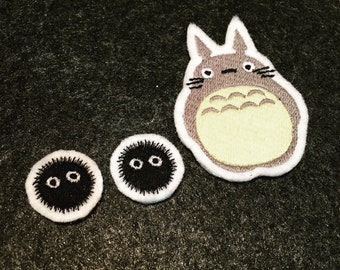 Soot Sprites - Studio Ghibli - Embroidered Premium Patch / Iron On